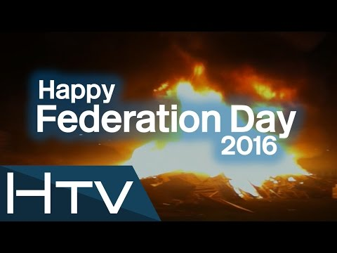 Federation Day 2016 (Herbatrean National Day) - 5th November Federal Bonfire in Maeshowe, Herbatrea