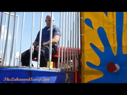 Dunk a Cop Lakewood Police NJ Oak St School TLS