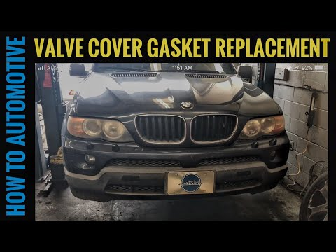 2004 bmw X5 N62 4 4i CCV Valve replacement Blue smoke