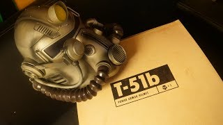 Fallout 76 Power Armour Edition UNBOXING (PC Collector's Edition) T-51B HELMET