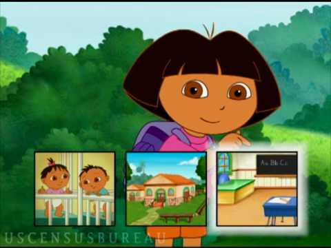A 2010 Census Message from Nickelodeon's Dora the Explorer