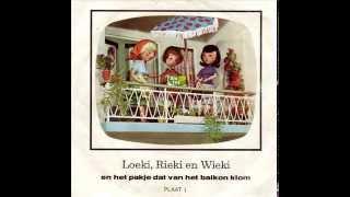 loeki rieki en wieki en het pakje dat van het balkon klom