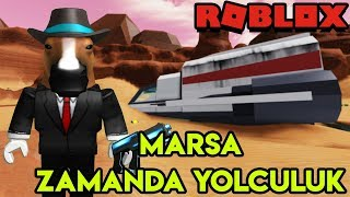 🌕 Going to Mars by Time Travel 👽 | Time Travel Adventures | Roblox English