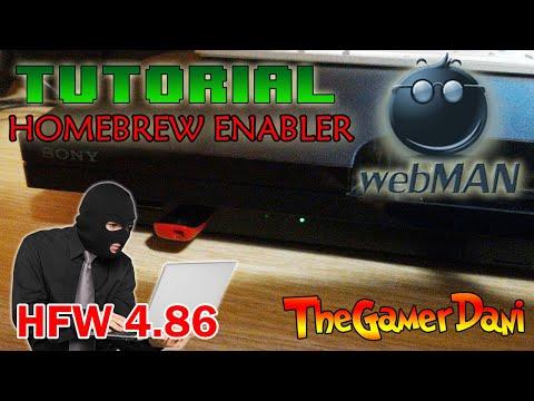 Tutorial [ITA] - PS3HEN (PS3 HB Enabler) con webMAN su HFW 4.86