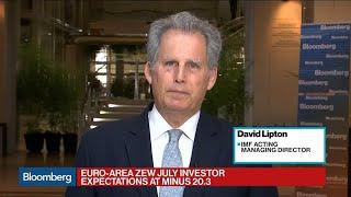 IMF's Lipton Says Sluggish Global Economy Needs a Response