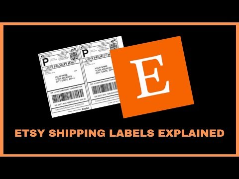 ETSY SHIPPING TUTORIAL - HOW TO PRINT ETSY SHIPPING LABELS - SUCCESS SELLING ON ETSY
