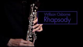 Osborne, Willson | Rhapsody (for Basset Horn)