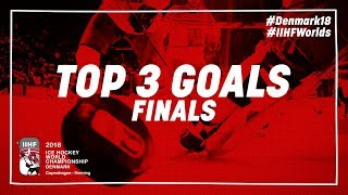 Top 3 Goals of the Day - May 20 2018 | #IIHFWorlds 2018
