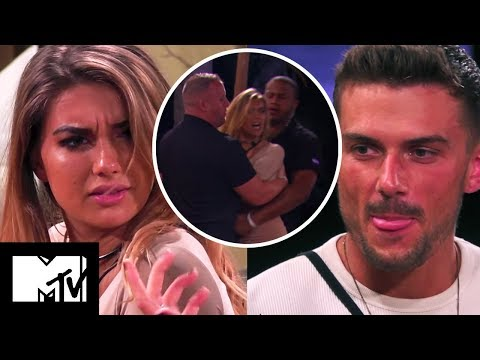 Dominika Throws A Chair At Aaron After X-Rated Suggestions Involving Angelica | Ex On The Beach 9