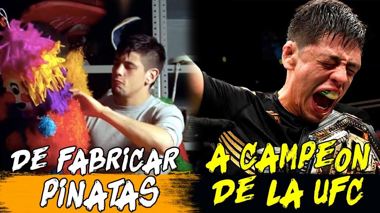 🥊 HISTORIA Y VIDA DE BRANDON MORENO CAMPEON DE LA UFC 🥊