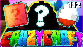 "Minecraft CRAZY CRAFT 3.0 SMP - ""MYSTERY LUCKY EGGS"" - Episode 112"