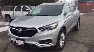 2018 Buick Enclave AWD Premium Handsfree Hatch Navigation Sunroof Silver Oshawa ON Stock #180944