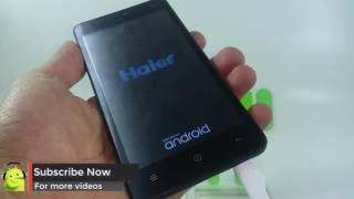 How to Hard Reset Haier G31 and Forgot Password Recovery, Factory Reset