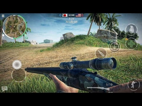 World War Heroes Pacific Map Gameplay ✔