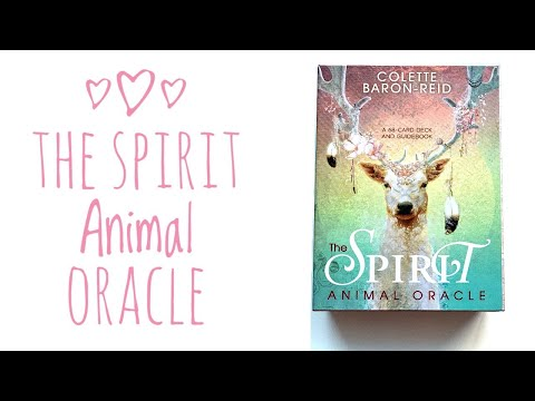 the-spirit-animal-oracle-review-&-unboxing-🐾-#thespiritanimaloracledeck-#spiritanimaloracle-#oracle
