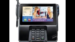 видео POS-терминал VeriFone MX870