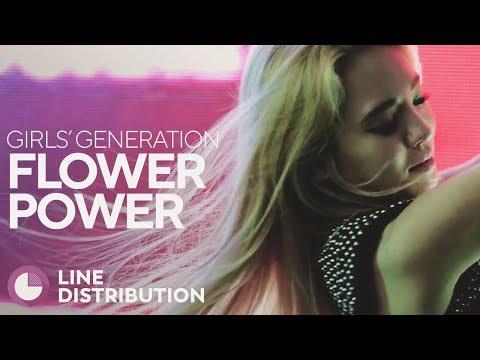 GIRLS' GENERATION - Flower Power (Line Distribution)