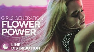 GIRLS' GENERATION - Flower Power Line Distribution