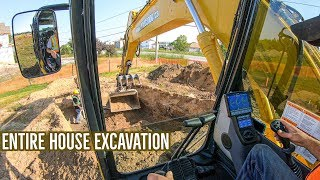 Digging A New House (FULL EXCAVATION)