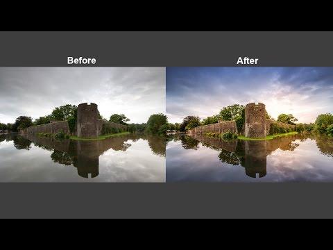 Stunning Photo Using Camera Raw Filter In Photoshop CC