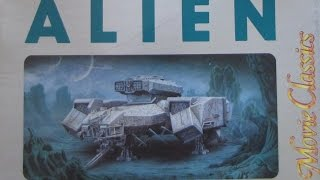 """NOSTROMO 1:960 Scale Model From The Movie """"ALIEN"""" Finished"""