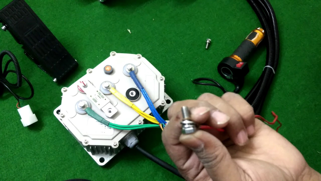 BLDC MOTOR CONNECTION 5 KW