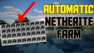 Minecraft 1.16 - AUTOMATIC NETHERITE FARM Tutorial (PC / XBOX / WINDOWS / PS4 / MCPE)