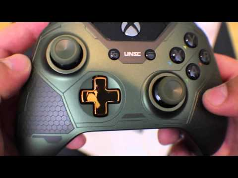 Xbox One Limited Edition Halo 5 Guardians The Master Chief Wireless Controller Preview