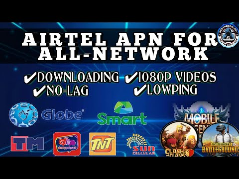 Airtel Apn Setting For All Network 2020 | Support 5g,4g,3g,H+ | Best Apn For Gaming | Tips & Tricks