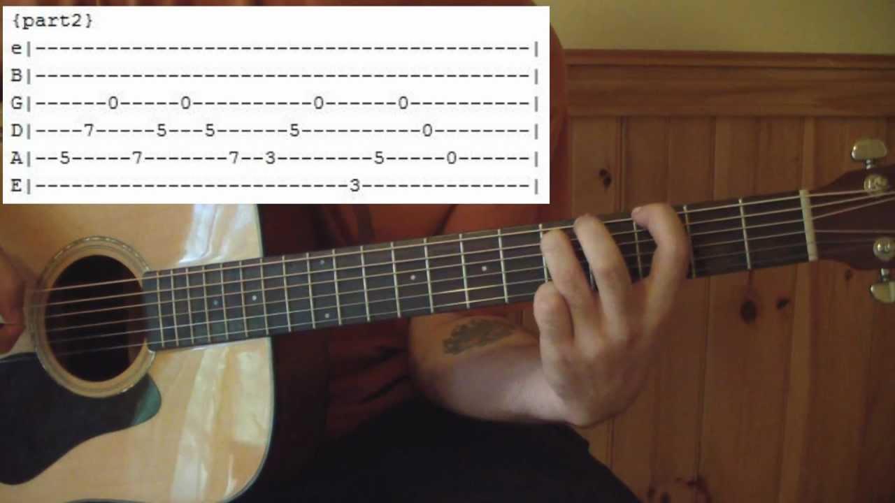 Acoustic 3 By Goo Goo Dolls Full Guitar Lesson Tabs Youtube