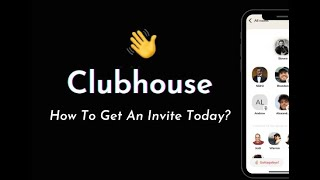 Download FREE INVITATION FOR CLUBHOUSE!