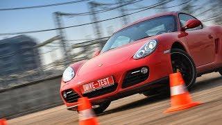 Porsche Cayman 2009 — звук мотора