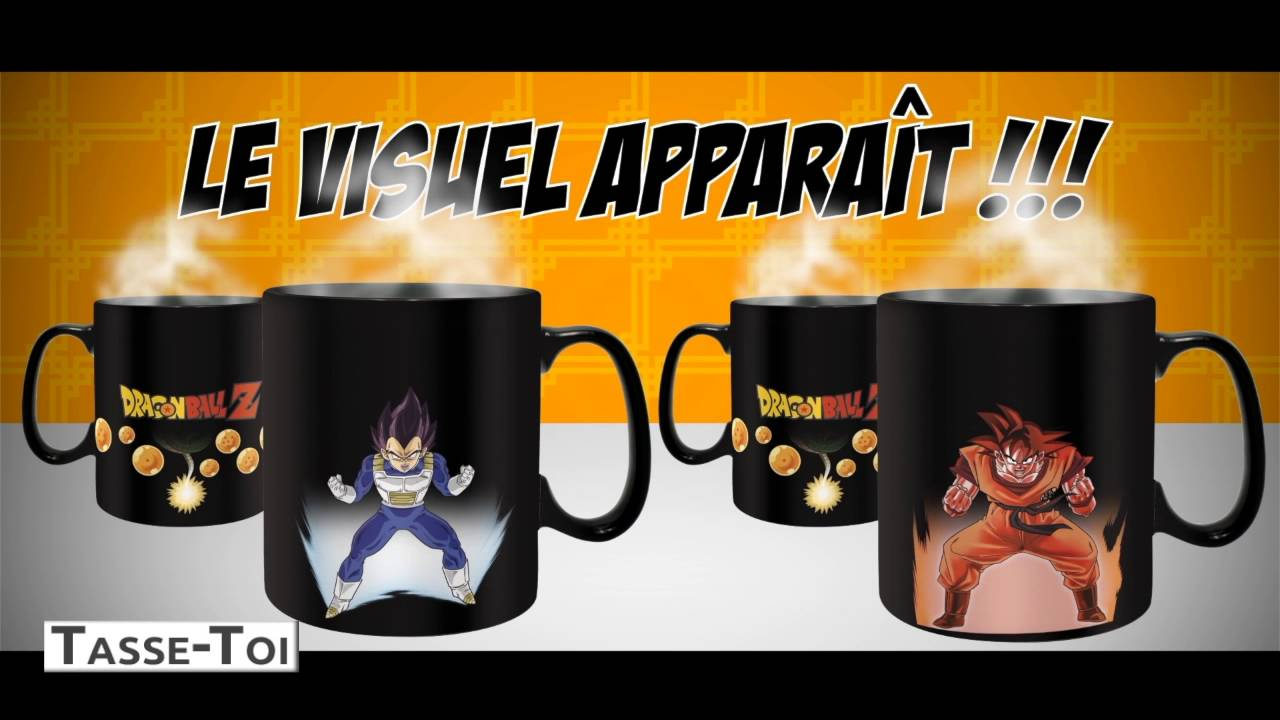 Mug Réactif Thermo Tasse Ball Z Dragon vN8n0mw