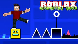 ROBLOX-CUBES are in DANGER! (Geometry Dash)