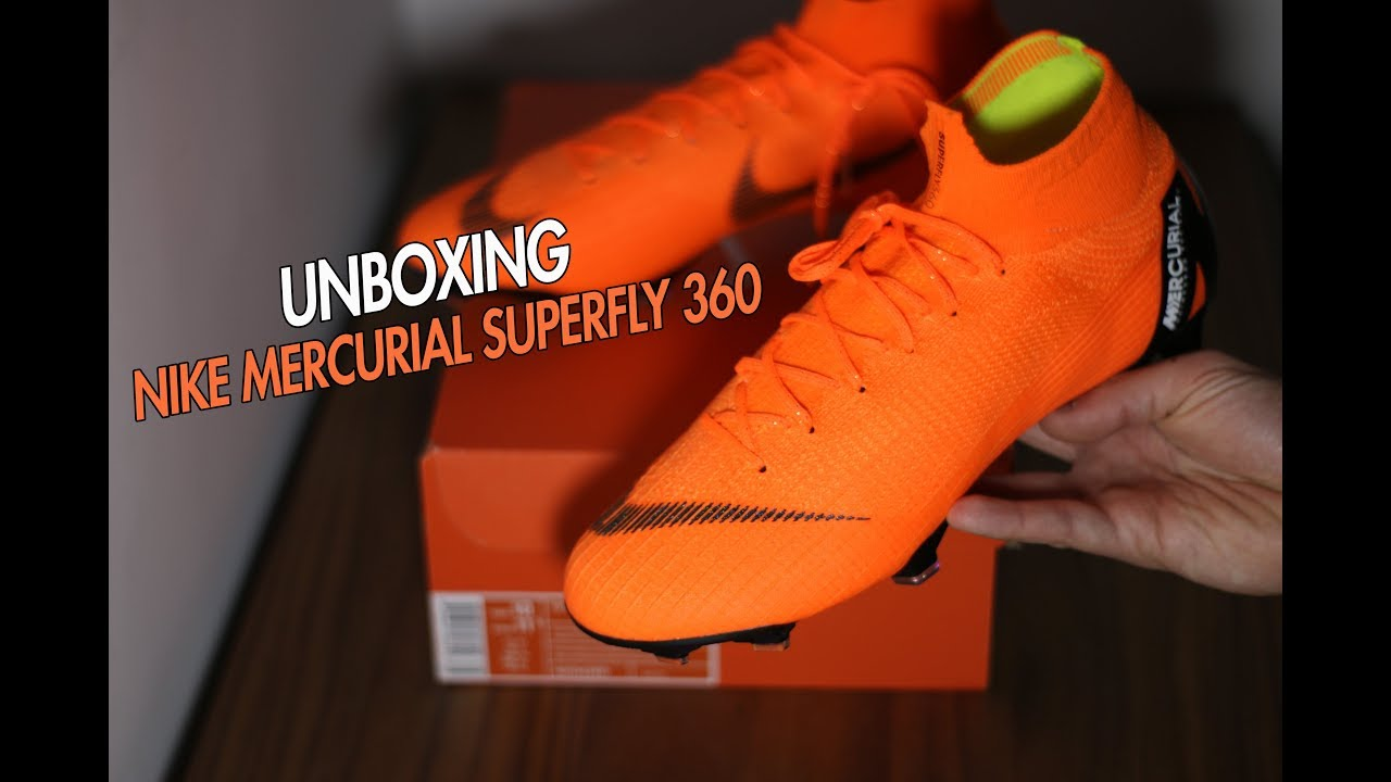 e9ceddc993b8 UNBOXING Nike Mercurial Superfly 360 - Unboxando  4 - YouTube