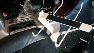 DIY Welded Steel Laptop Car Mount