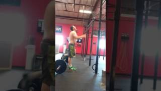 2017 Granite Games Team Qualifier WOD 3  Steven Thunander  Wall Balls Deep In Your Snatch