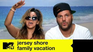 Snooki and Ronnie drunk, the hangover is epic! | Jersey Shore Family Vacation