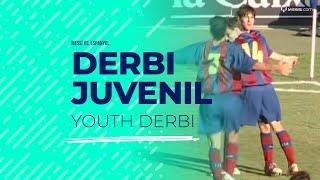 Messi frente al Espanyol B