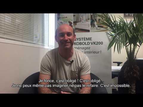 Rencontre avec Sébastien, conseiller Kobold à Nantes.