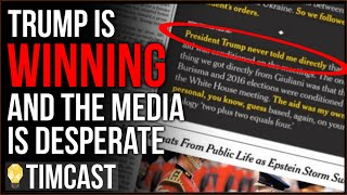 Trump Is WINNING On Impeachment And The Media Has Started PANICKING