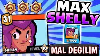 MAX SHELLY YAPMAK MALLIKTIR ! NO SHELLY ! Brawl Stars