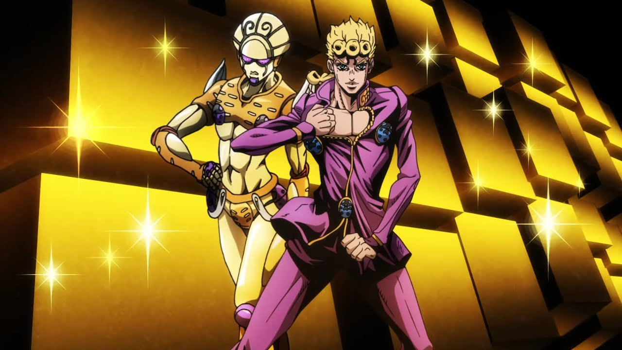 JoJo's Bizarre Adventure: Golden Wind - Giorno Giovanna PV ...