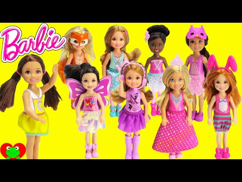 Barbie Dolls Small Chelsea and Friends