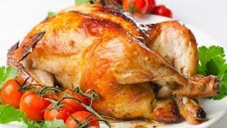 Как приготовить курицу-гриль на вертеле в духовке. Просто и вкусно