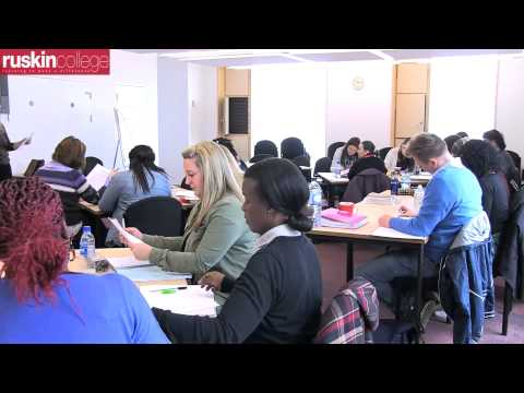 Social Work (BA Hons) @ Ruskin College