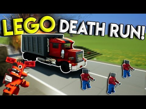 ULTIMATE LEGO DEATH RUN SURVIVAL CHALLENGE! - Brick Rigs Multiplayer Gameplay - Lego Obstacle Course