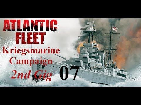Atlantic Fleet Kriegsmarine 2nd Gig Episode 07 - Small Fish [NO AUDIO]