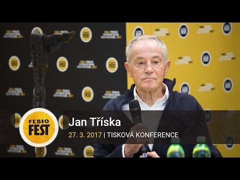 Jan Tříska   Tisková konference MFF Praha - Febiofest 2017