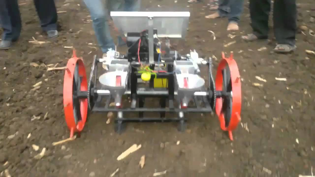 Automatic Agricultural Seed Planter